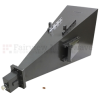 Broadband Gain Horn Antenna Operating from 2 GHz to 4 GHz with a Nominal 20 dB Gain and 7/16 DIN Female Input -- SH0204D - Image