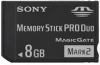 Sony 8GB MSMT8G Memory Stick Pro Duo Mark 2 (Memory Stick Duo Adapter Included) -- MSMT8G/K