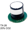 TX Carbon Dioxide Industrial Sensors with Transmitter -- TX-26