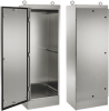 General Purpose Single-Door Free-Stand with Quarter-Turn Latches, Type 4X -- A72HS3024SSLPQT