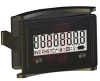 Counter, 8 fig, reset, 10-300VDC, 20-300VAC, flush rect case, 1/4 in spade term -- 70115446 - Image