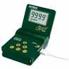 Extech Microprocessor Calibrator Thermometer, 115 VAC -- GO-26842-05
