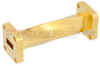 WR-42 90 Degree Waveguide Twist Using a UG-595/U Flange And a 18 GHz to 26.5 GHz Frequency Range -- SMW42TW1001 -Image
