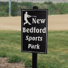 Custom Engraved Sign with Standard Corners