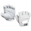 Mesh Backed Lifter's Gloves - White - Small -- GLV1032S