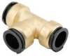 Quick-Connect Union Tee - Lead Free Brass -- LF4723 -- View Larger Image