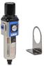 Pneumatic / Compressed Air Filter-Regulator: 1/4 inch NPT female ports -- AFR-3233-A - Image