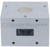 WR-90 Waveguide Circulator with 18 dB Min. Isolation from 8.2 GHz to 12.4 GHz using Cover Flange in Aluminum -- FMWCR1001 - Image