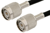 TNC Male to TNC Male Cable 48 Inch Length Using PE-C240 Coax -- PE35997-48 -Image