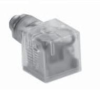 Form A (18mm) Solenoid Valve Connector -- VAC-029-3401 - Image