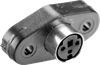 Panel Mount Receptacle DIN Mini Circular Connector -- MD-70SP