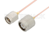 SMA Male to TNC Male Cable 60 Inch Length Using PE-047SR Coax -- PE34408-60 -Image