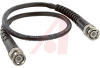 Cable Assy; 12 in.; 19 AWG; RG223/U; Non Booted; Black Jacket; UL Listed -- 70197982