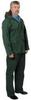 2 Piece Rainsuit w/Hood,Forest Green,2XL -- 5JDY3 - Image