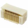 Rectangular Connectors - Arrays, Edge Type, Mezzanine (Board to Board) -- 455-2844CT-ND - Image