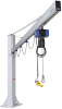 Complete jib crane for incl. chain hoist and plug fixation CSKS-SCH-125-4000-SRA105-2600-EL -- 14.05.01.00374 -Image