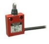 MICRO SWITCH 924CE Series Miniature Safety Limit Switch, 1NC/1NO Direct Opening, Slow Action, Roller Plunger Perpendicular (Boot Seal), 3 ft Side Exit Cable, 100 mA to 10 A (Thermal), Silver Contacts -- 924CE55S3A -- View Larger Image