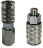 Quick Disconnect with Shut-Off Valve, G1/8 Male Thread -- HC-DGA-S100-G1/8-M