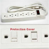 6-Outlet 15A Power Strip 14AWG 1.5ft -- 2150-SF-23 -- View Larger Image
