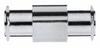 316 Stainless Steel fittings, female luer x female luer -- GO-41507-89 - Image