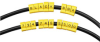 Snap-Lock Cable IDs, Alpha Marker Letter A, 10-Pack -- CM00A