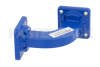 WR-62 Commercial Grade Waveguide H-Bend with UG-419/U Flange Operating from 12.4 GHz to 18 GHz -- PE-W62B002 - Image