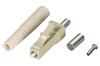 Fiber Optic Connector, Ceramic Ferrule, LC Multimode Simplex, 127-µm/3.0-mm -- FOT223