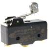 MICRO SWITCH BA Series Premium Large Basic Switch, Single Pole Double Throw Circuitry, 20 A at 250 Vac, Roller Lever Actuator (Stainless Steel Roller), 1,67 N [6 oz] Operating Force, Screw Termination -- BA-2RV22-A2 -Image