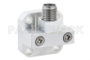 WR-28 UG-599/U Square Cover Flange to 2.92mm Female Waveguide to Coax Adapter Operating from 26.5 GHz to 40 GHz -- PEWCA1020 - Image