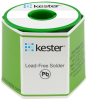 Kester Solder without Flux Core Lead-Free Solder Wire 14-7068-0040 - 1 lb - 0.04 in Wire Diameter - Sn/Ag/Cu Compound -- 14-7068-0040