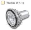 GU10 LED Bulb 5W 45 Deg Silver - Warm White -- LB-SC-GU10-1S-WW