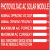 Labels : Solar : Polyester -- C400X400SP1-ASM