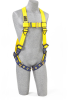 DBI Sala Delta Yellow Universal Vest-Style Body Harness - Polyester Webbing - 840779-00001 -- 840779-00001