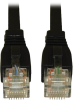 Augmented Cat6 (Cat6a) Snagless 10G Certified Patch Cable, (RJ45 M/M) - Black, 7-ft. -- N261-007-BK - Image