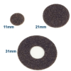 PSA Sandpaper Discs for Angle Handpieces -- 510-0635