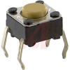 Switch,FLUX TIGHT MECHANICAL KEYSwitch,,50MA@24VDC, NO GROUND TERM.,FLAT PLUNG. -- 70176108 - Image