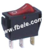 Single-pole Rocker Switch -- IRS-101-1C ON-OFF - Image