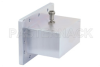 WR-430 CPR-430F Flange to N Female Waveguide to Coax Adapter Operating from 1.7 GHz to 2.6 GHz -- PE9872