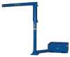 VESTIL Portable Jib Cranes with Counterbalance Base -- 7496400