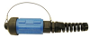 Over-Molded Connectors, Black Zinc, Cobalt Plated Connector, Harsh Environments, Power Connector -- Amphe-Armor