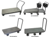 Nesting And Non-Nesting Flatbed Carts -- HFB-N2448PW -Image