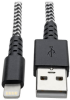 Heavy-Duty USB Sync/Charge Cable with Lightning Connector, 3 ft. (0.9 m) -- M100-003-HD - Image