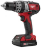 M18 18 Volt Compact Hammer Drill Kit w/2 Compact Batteries -- 2602-22CT