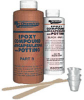 Epoxy Compound; for potting and encapsulating; 2 part; clear; .8 gal liquid -- 70125827