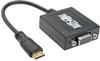 Mini HDMI Male to VGA Female Adapter Cable - 6 in., 1920x1200, 1080p -- P131-06N-MINI
