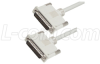 Premium Molded D-Sub Cable, DB25 Male / Male, 12 ft -- CS2N25MM-12