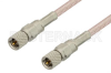 10-32 Male to 10-32 Male Cable 12 Inch Length Using RG316 Coax, RoHS -- PE36524LF-12 -- View Larger Image