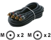 Steren Python Home Theater Cables -- 254-225BL