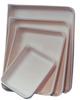 White HDPE Tray w/Pour Spout - 10