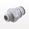 Coupling Insert, In-Line Pipe Thread, Shutoff -- HFCD24812 -Image